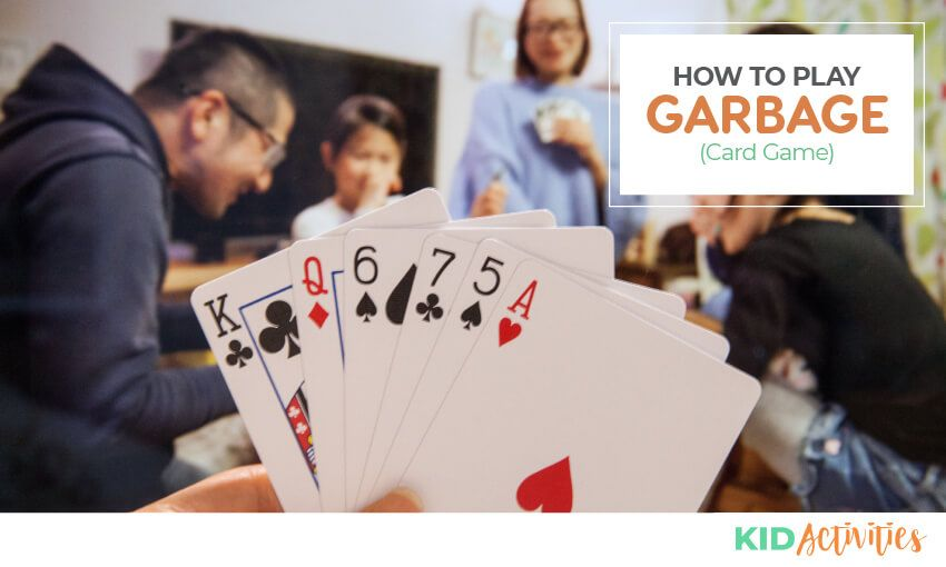 How to play garbage card game in 2020 card games fun