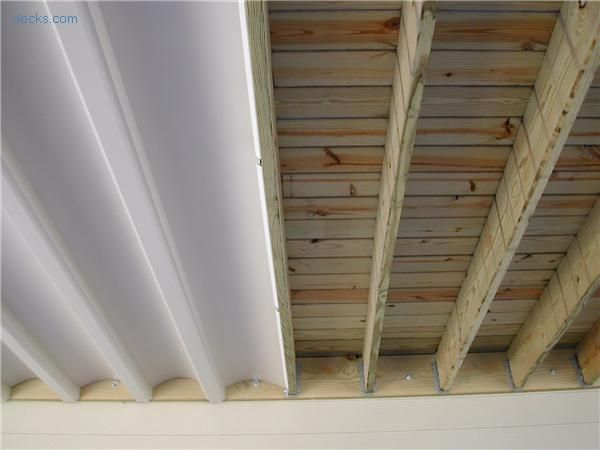 Get The Taste Of The Rain By Making Slight Touches To Your Deck Under Roof Building A Deck Under Decks Diy Deck