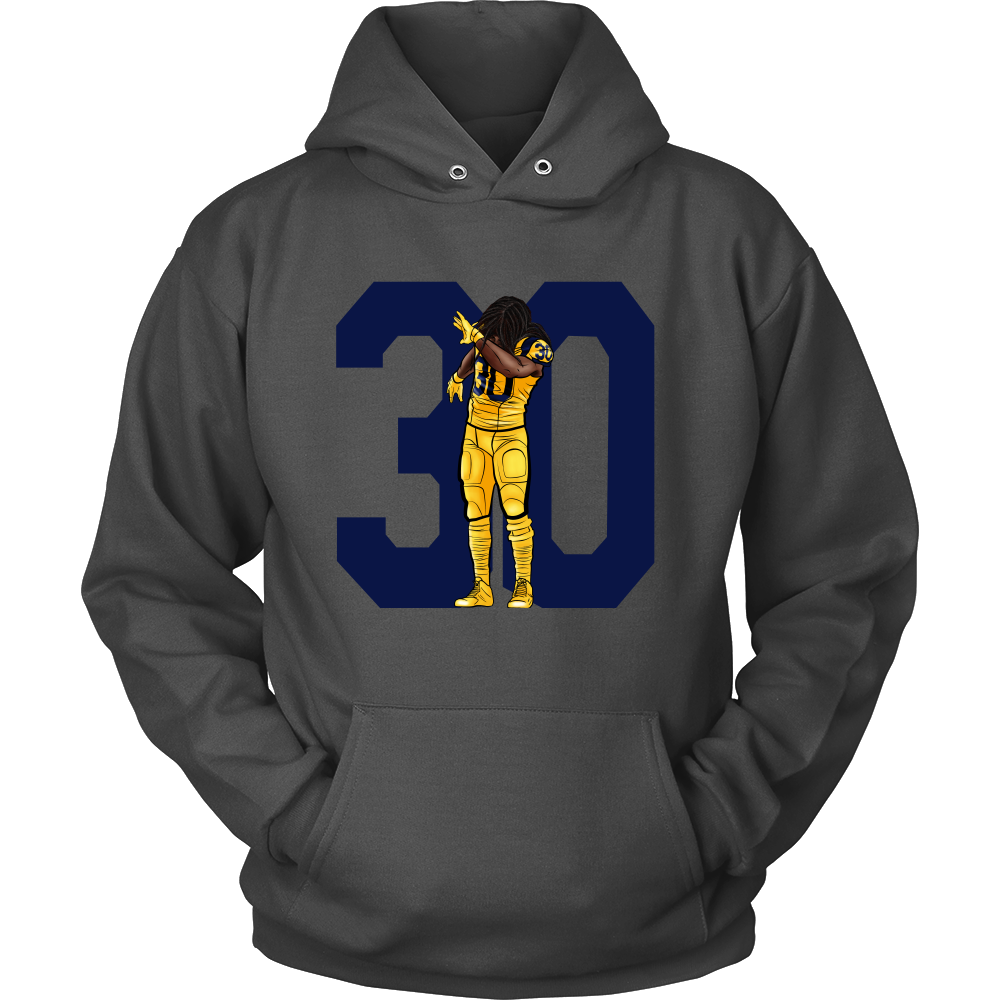Todd Gurley Dab On Em Hoodie Hoodies Gold View Sweaters