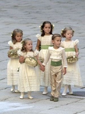 Anamira vestidos para pajes