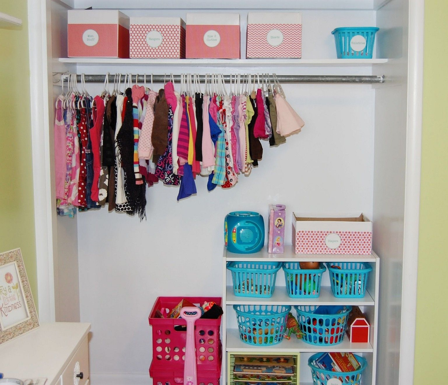 Baby Clothes Storage Small Space
