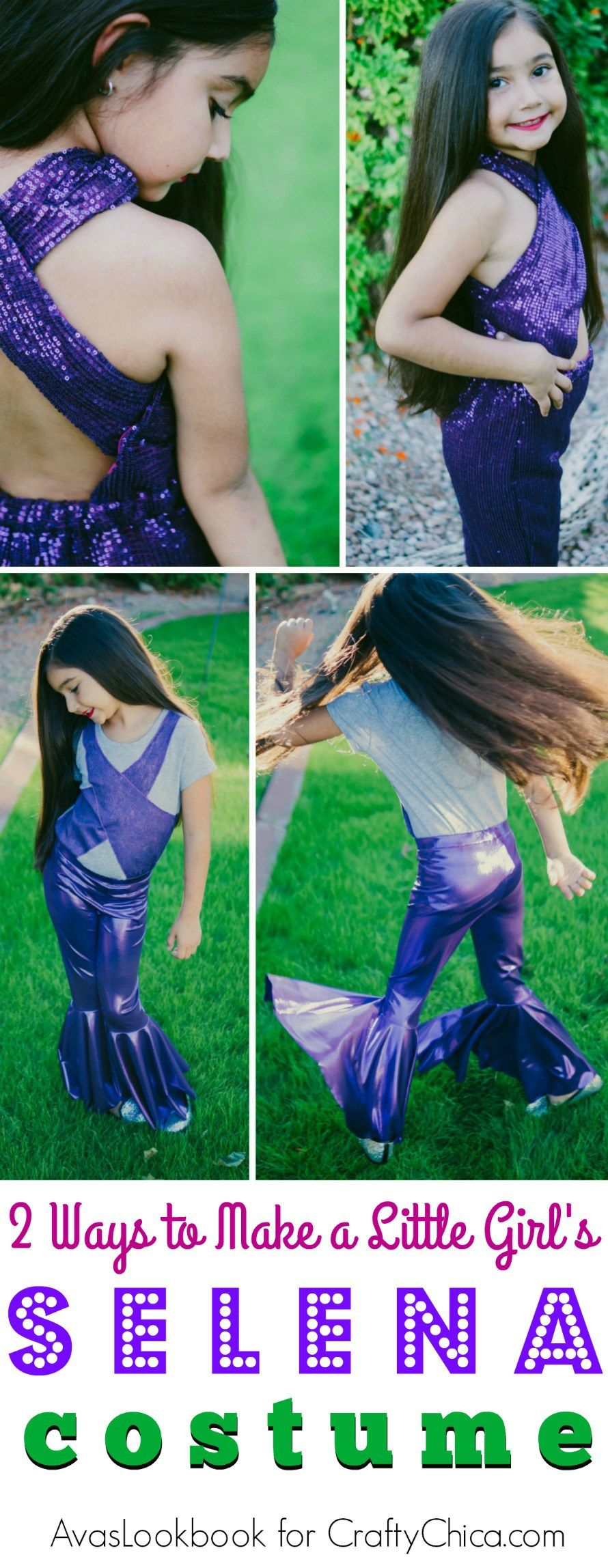6f25421bd3c6 Selena Purple Jumpsuit Costume For Sale