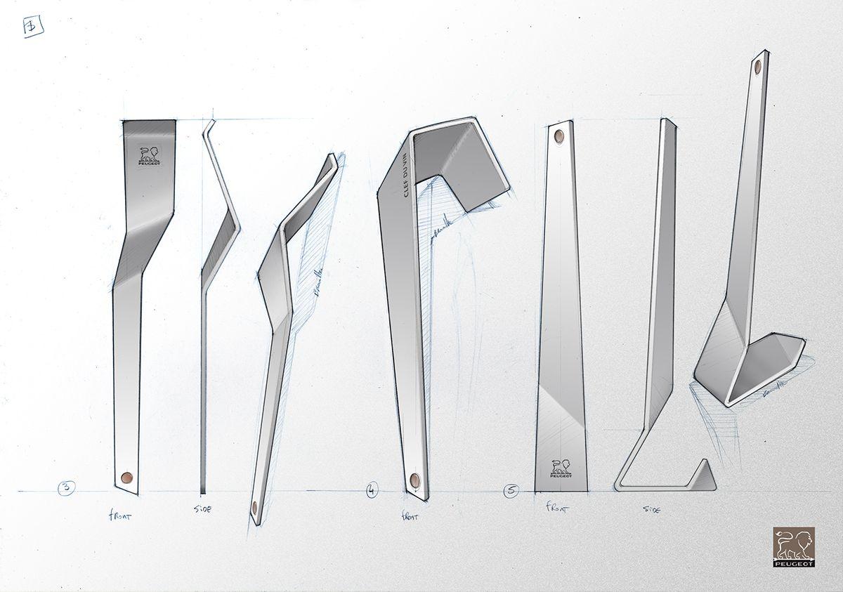 LA CLEF DU VIN, PEUGEOT SAVEURS -2014- on Behance | Design Peugeot ...
