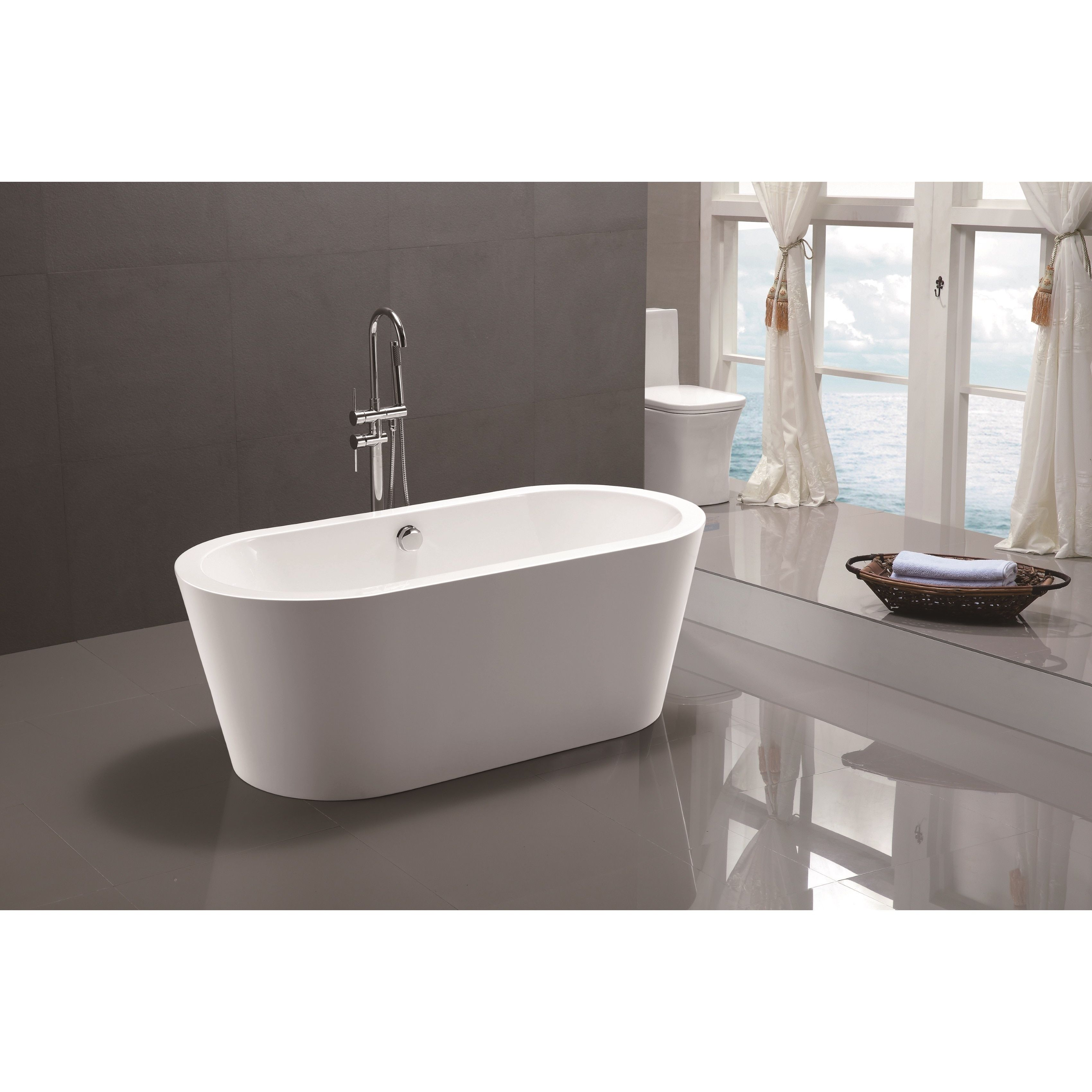 Oval Soaking Tubs: Add a relaxing new element to your daily routine with a soaking tub. Free Shipping on orders over $45!