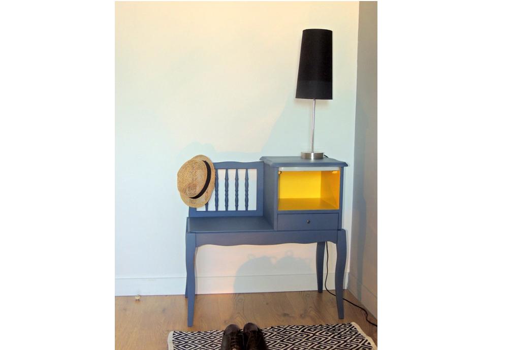 meuble d 39 entr e t l phone chaussures l 39 atelier des. Black Bedroom Furniture Sets. Home Design Ideas