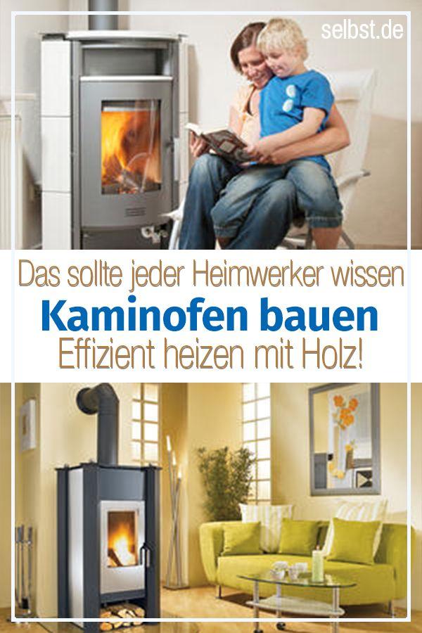 Kaminofen selber bauen | Heizen & Energiesparen | Kaminofen ...