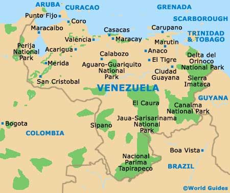 world map of caracas venezuela Google Search kids need to know