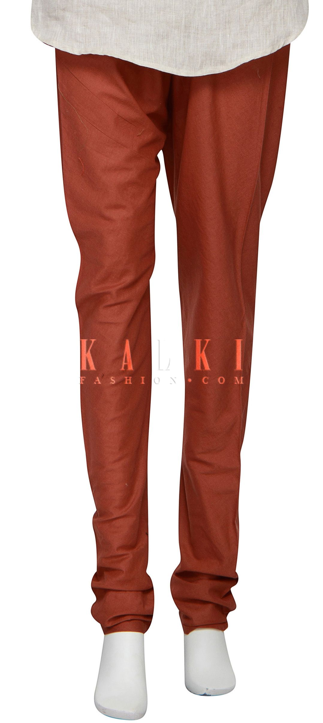 Buy Online from the link below. We ship worldwide (Free Shipping over US$100) http://www.kalkifashion.com/featuring-brown-churidar-in-cotton-only-on-kalki.html