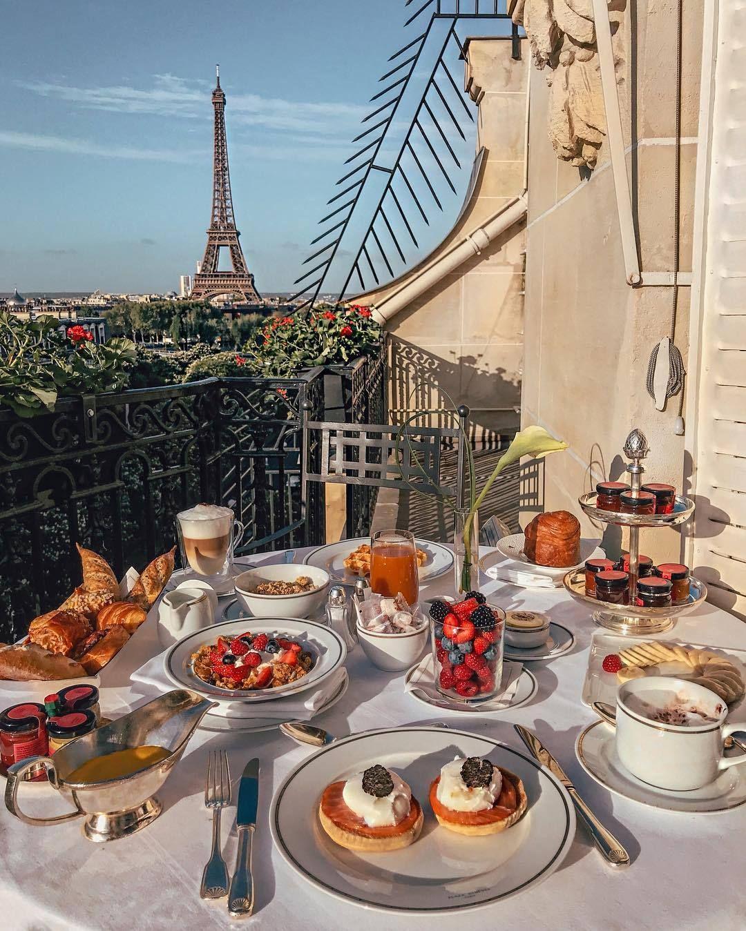 девочек картинки французского завтрака декоративные вещицы