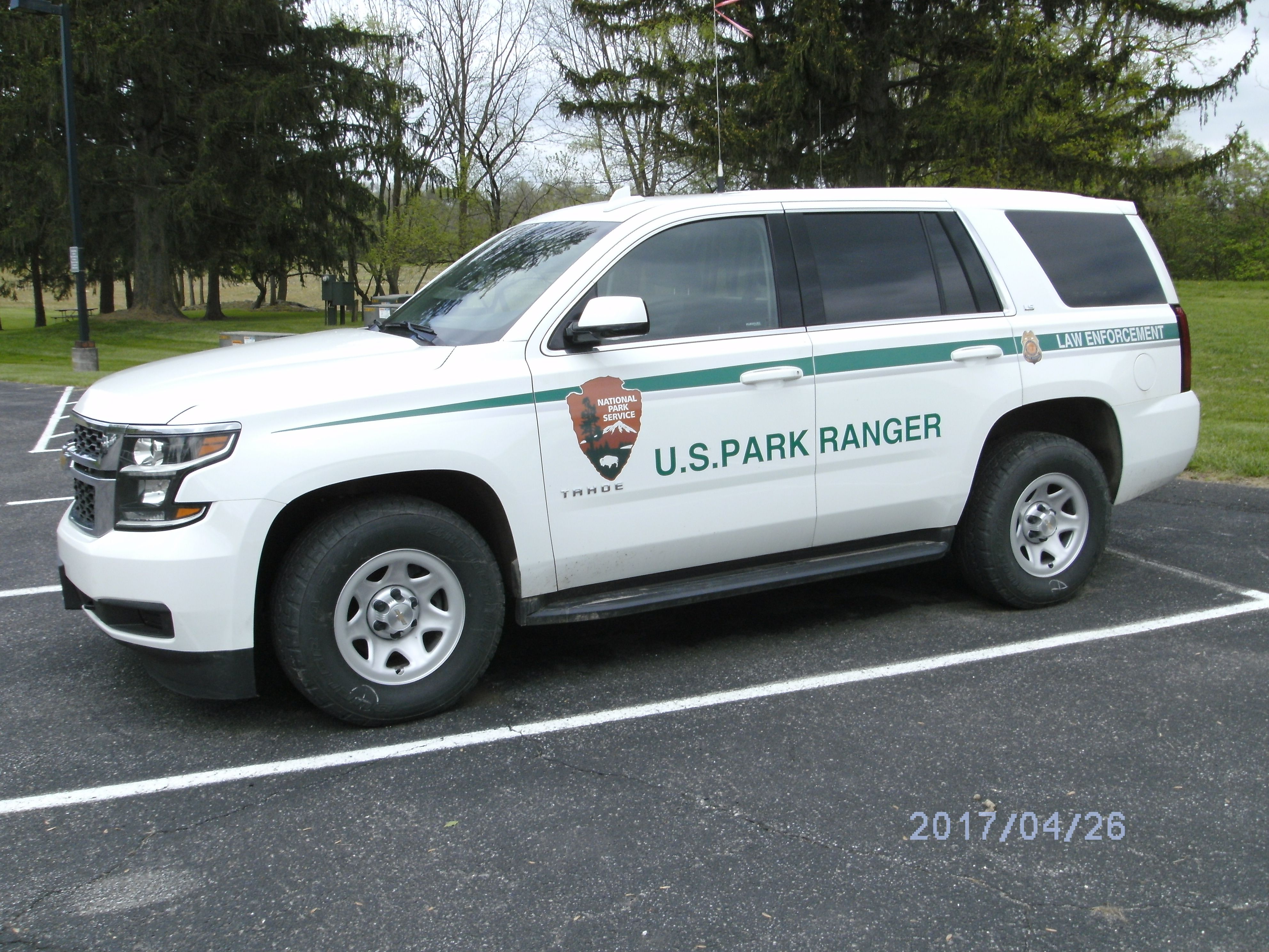 National Park Service C O Canal Nps Park Hagerstown Maryland Headquarters Chevy Tahoe Law Enforcement Vehicle Emergency Vehicles Law Enforcement Us Park