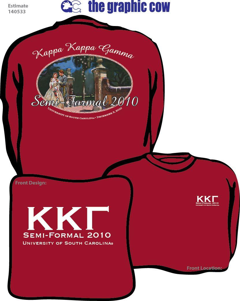 najniższa cena gorąca wyprzedaż przybywa Kappa Kappa Gamma USC formal Shirt by James. I love the ...