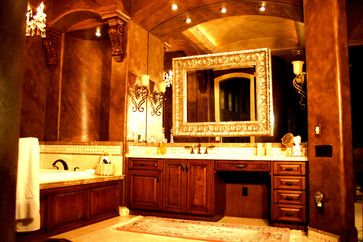 Mario Aldape - mediterranean - bathroom vanities and sink consoles - other metro - Sunwest Woodworks