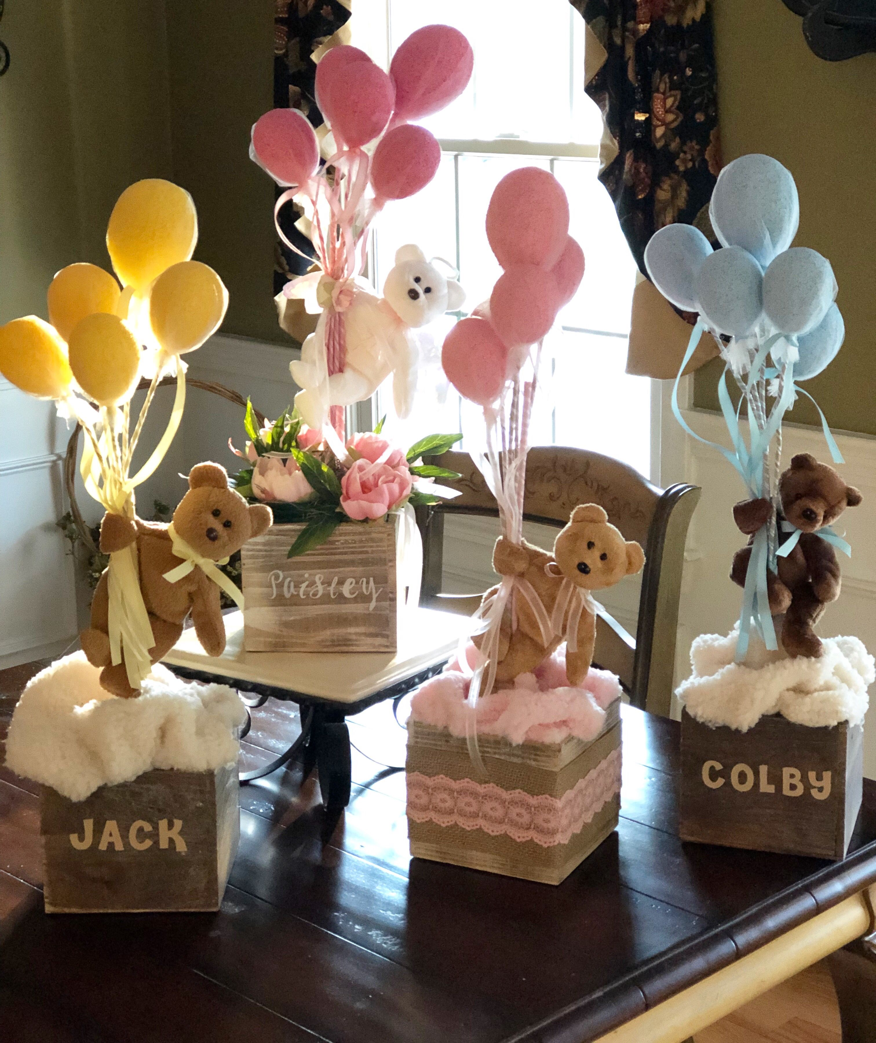 Balloon Arrangements Teddy Bears And Balloons Personalized Gifts