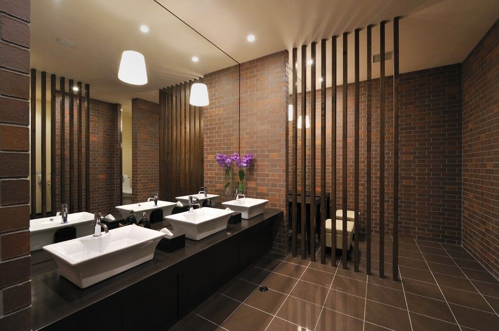 Cool Bathroom Partitions Commercial Decorating Ideas Images In Bathroom Contemporary Design