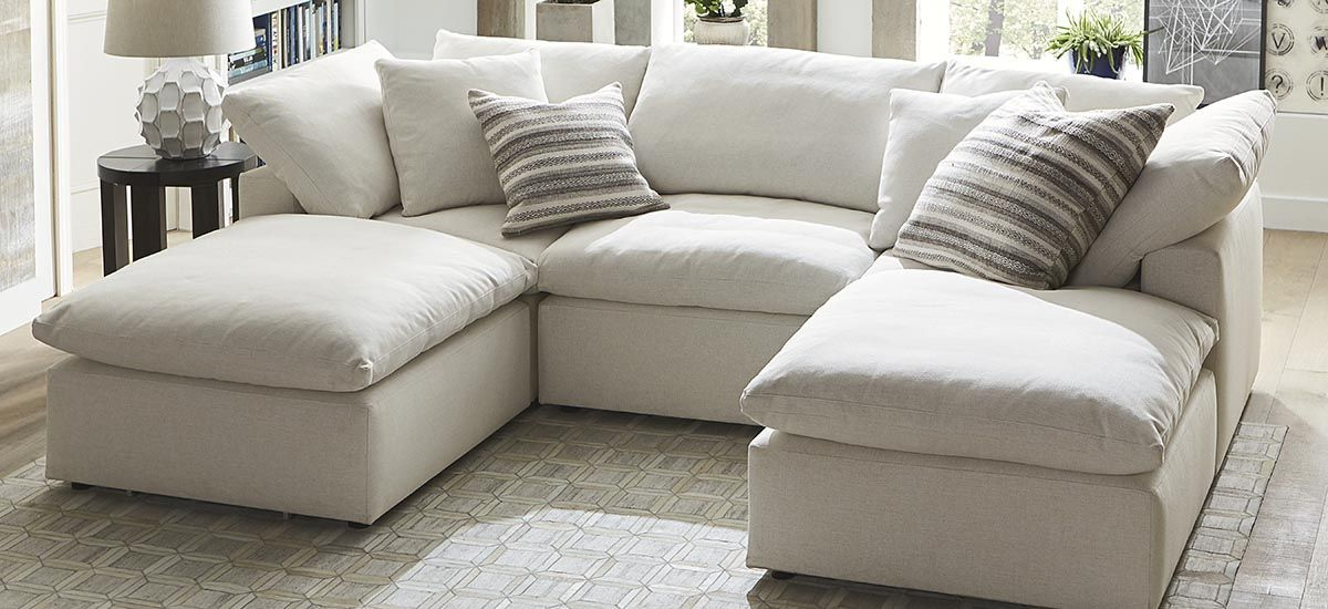 Small Double Chaise Sectional Sectional Sofa Comfy Sectional