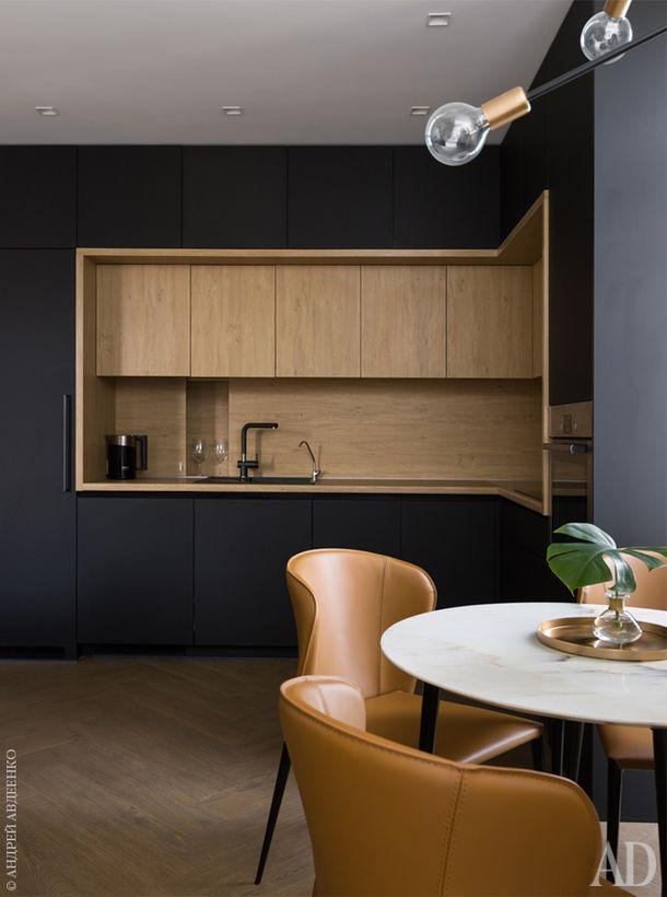 Трехуровневая квартира в Киеве | Cucine, Cucine di lusso e Design di ...