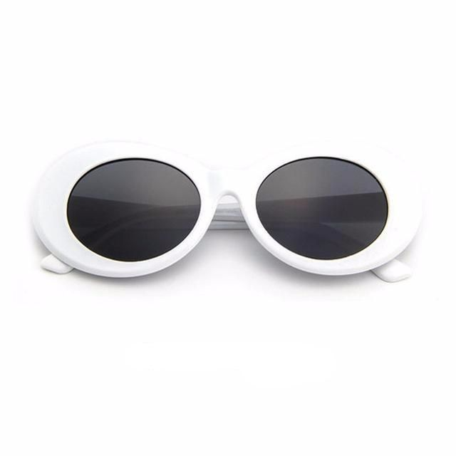 Clout Goggles Sunglasses Vintage Oval Sunglasses Sunglasses