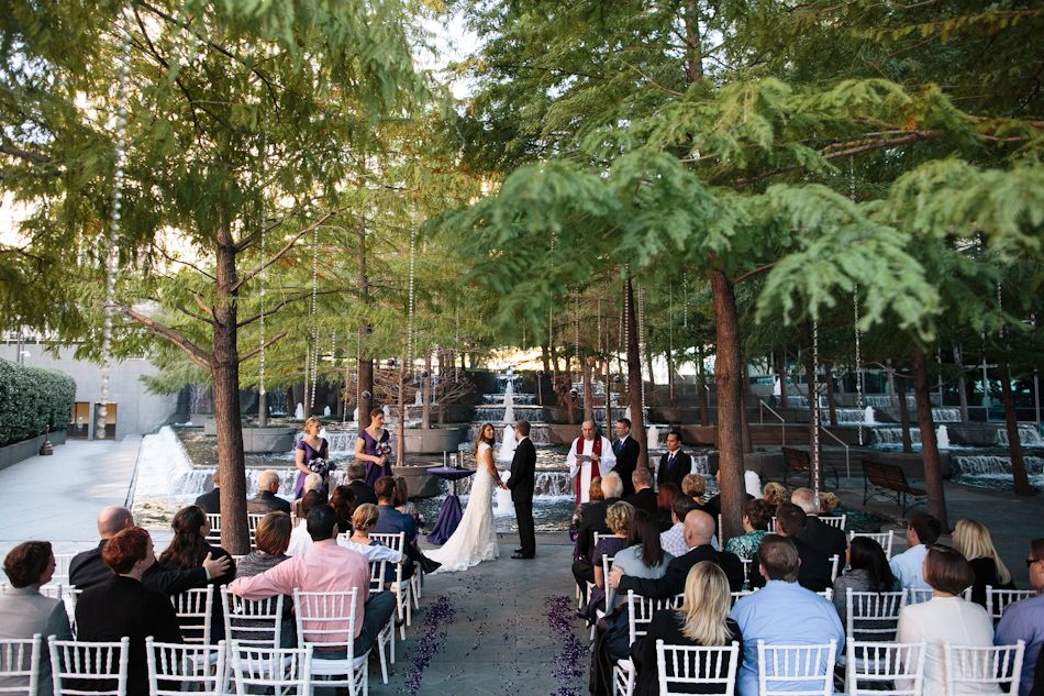 Avanti fountain place wedding