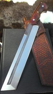 Elite Tanto Knife Competition Chopper Knife Big Hunting