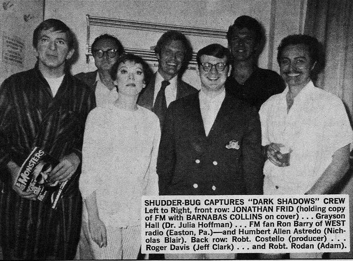 part of the cast and crew | Dark Shadows | Dark shadows tv