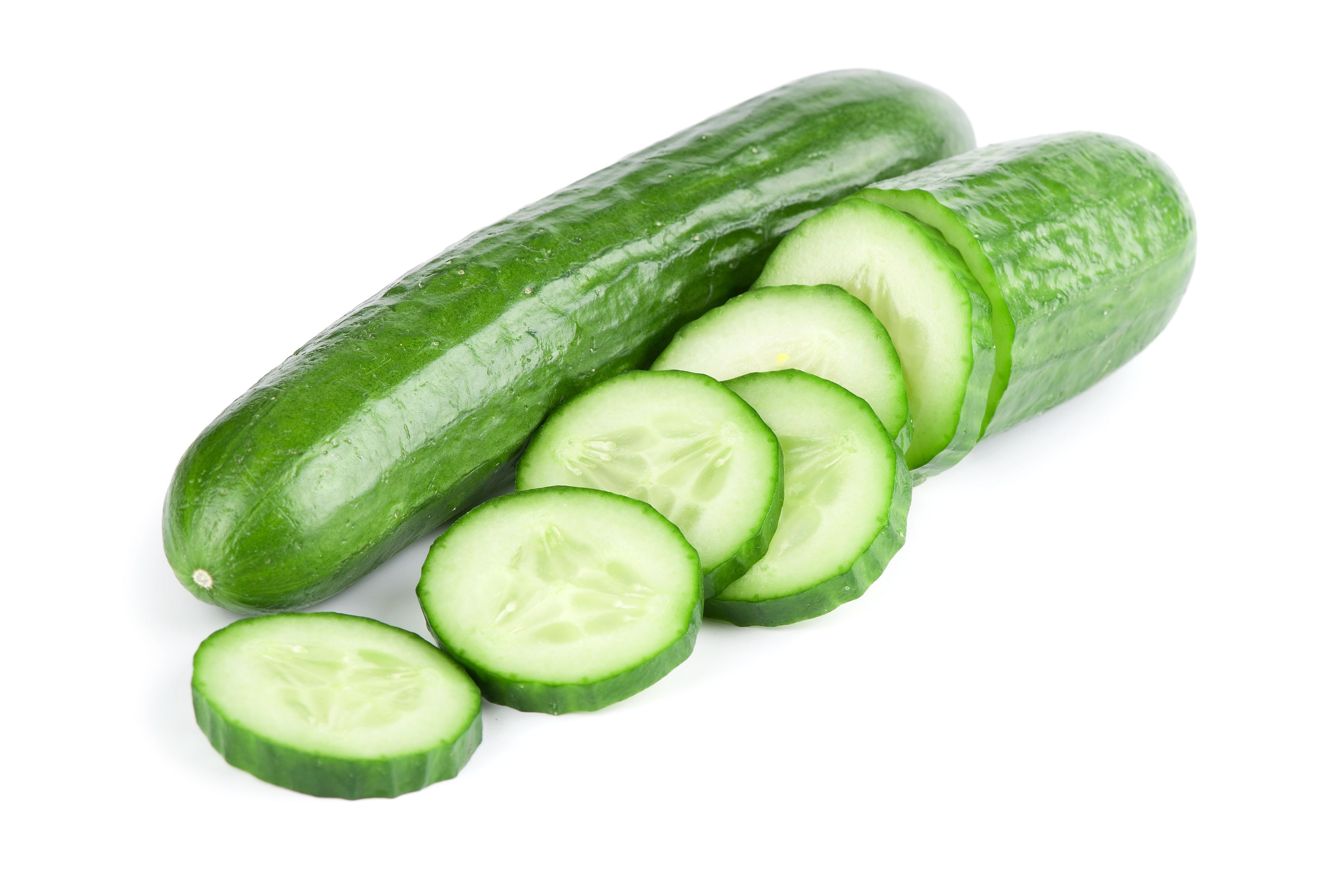 Cucumbers are loaded with the mineral silica, which is an essential component for healthy connective tissue (muscles, ligaments, cartilage, bone, & skin). They are also full of ionic potassium, magnesium, and vitamin C, which gives them a powerful alkalizing effect within the body. Additionally, cucumbers are particularly rich in fluids that hydrate the skin, joints, and tissues.