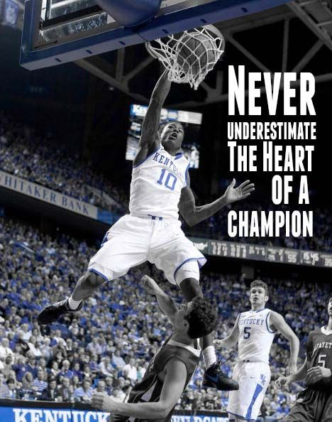 Goodwin dunk never underestimate the heart of a champion bbn uk basketball goodwin dunk never underestimate the heart of a champion sciox Gallery