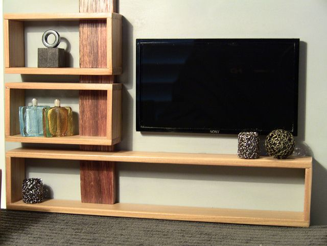 The 25 best entertainment units ideas on pinterest for Floating entertainment center ikea