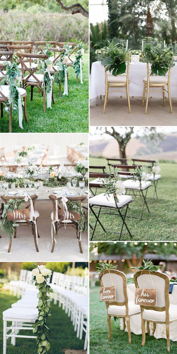 chair arrangements for weddings