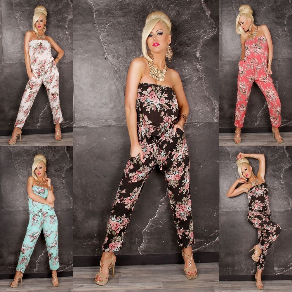 100% authentic 85d41 c4760 sexy Bandeau Overall Damen Overall lang Sommer Overall Damen ...