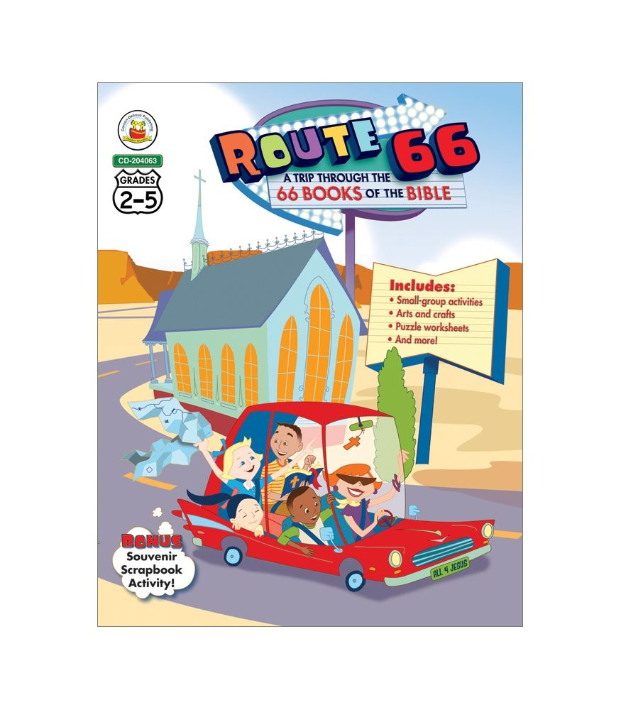 have fun with faith using route 66 a trip through the 66 books of