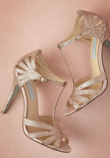 8e14c8c9f Rose gold 'Stardust' heels - would go really well with the bridesmaid dress  for the seester's wedding