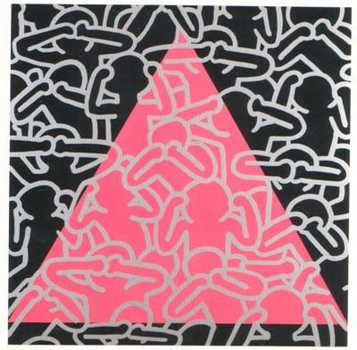 Limited Edition Print Silence=Death (Aids) by Keith Haring