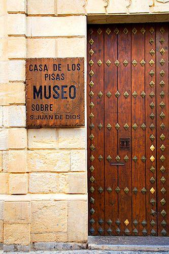 Casa de los Pisas Museum Granada Spain