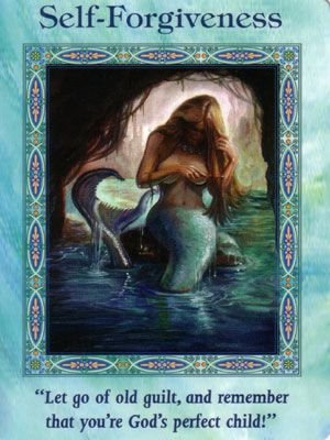 Image result for doreen virtue mermaids and dolphin cards         self forgiveness