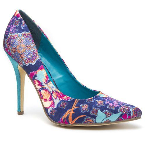 Amazon.com: Beauty Heel Womens Closed Pointy Toe Floral Flower Paisley High Heel Stiletto Pump Shoes