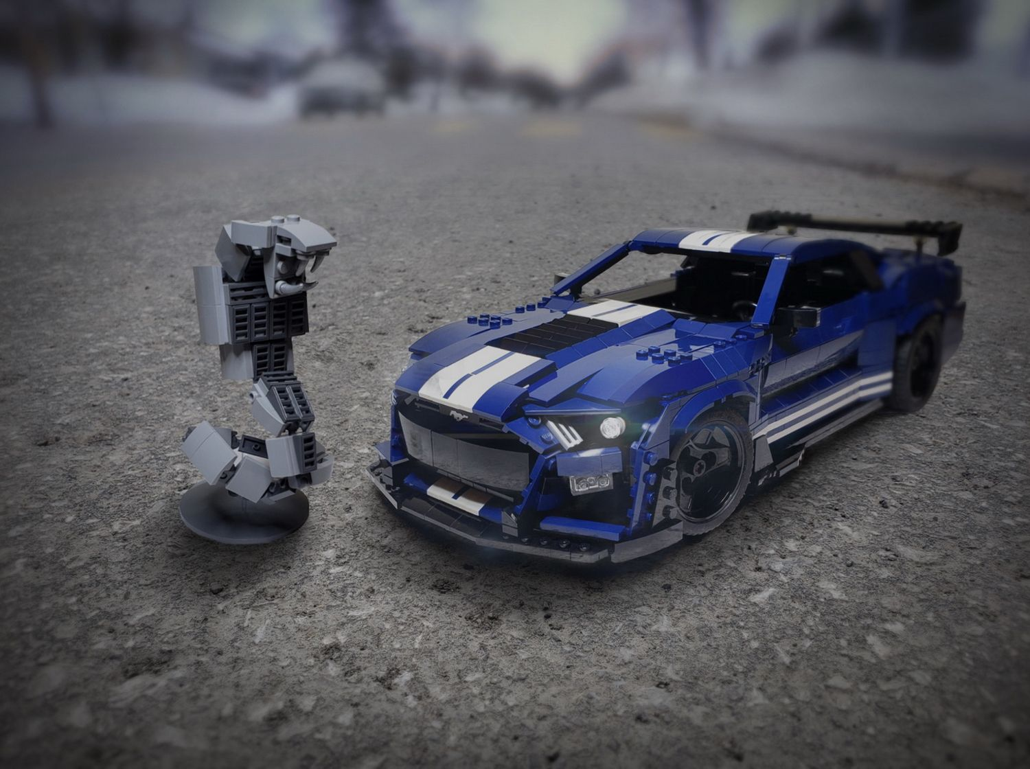 Epic Lego 2020 Mustang Shelby GT500 Build Needs Votes