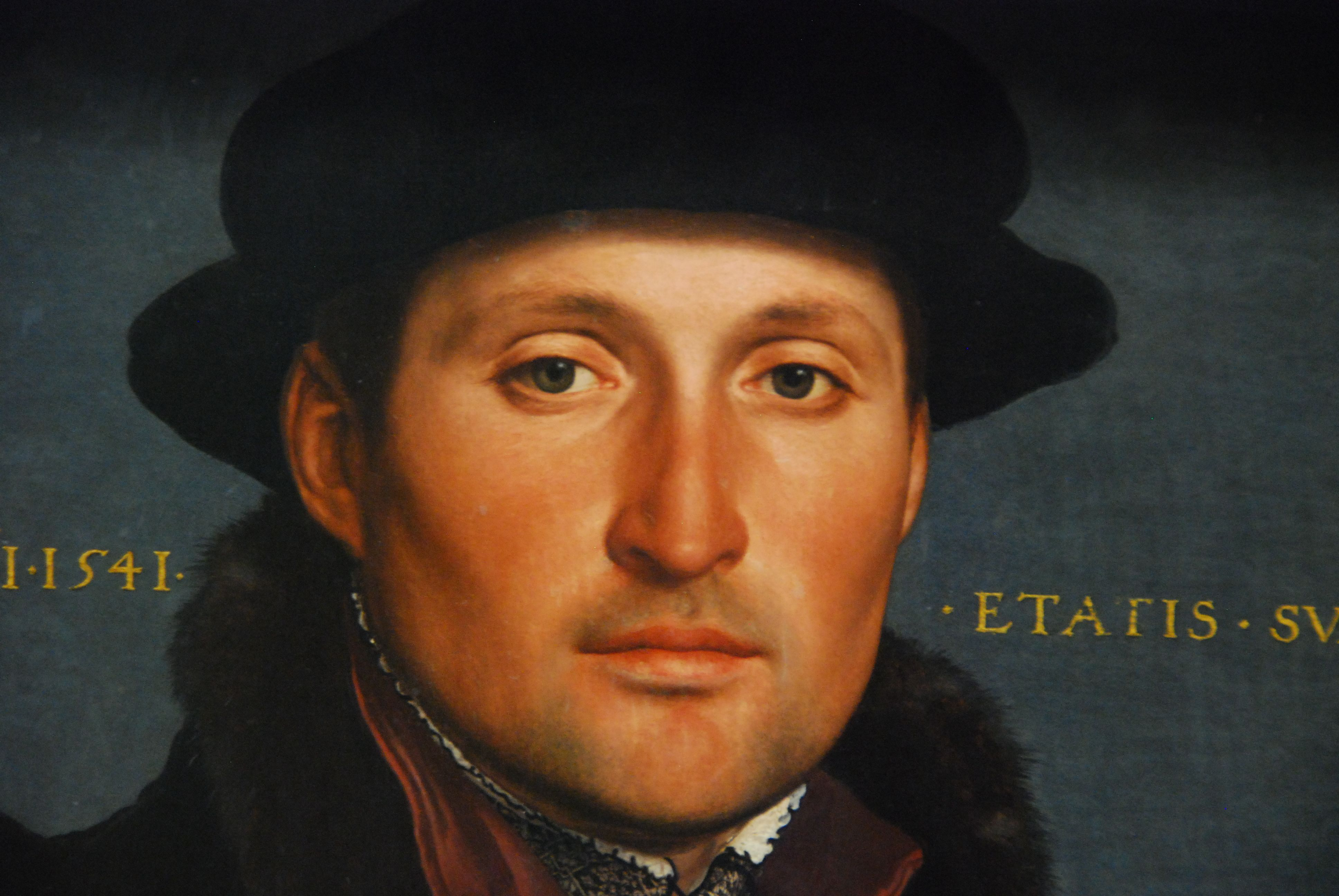 Hans Holbein the Younger - Portrait of a Young Merchant. Description from pinterest.com. I searched for this on bing.com/images