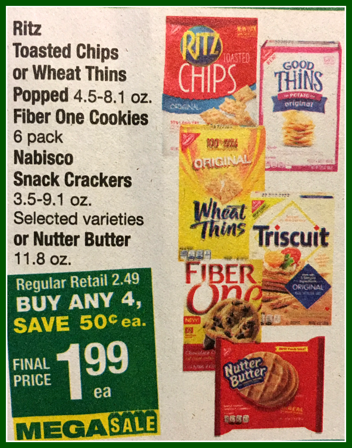 image about Nabisco Printable Coupons referred to as Totally free Nabisco Fantastic Thins! Just take your cost-free printable coupon right here