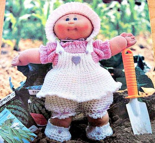 Cabbage patch kids preemies crochet patterns booklet 24 outfits cabbage patch kids preemies crochet patterns booklet 24 outfits dt1010fo