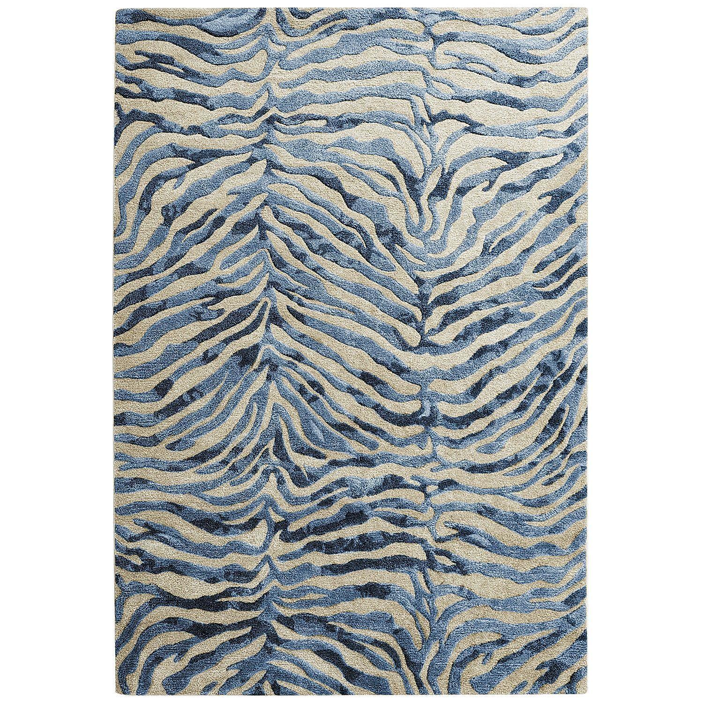 wool classics zebra rug product print