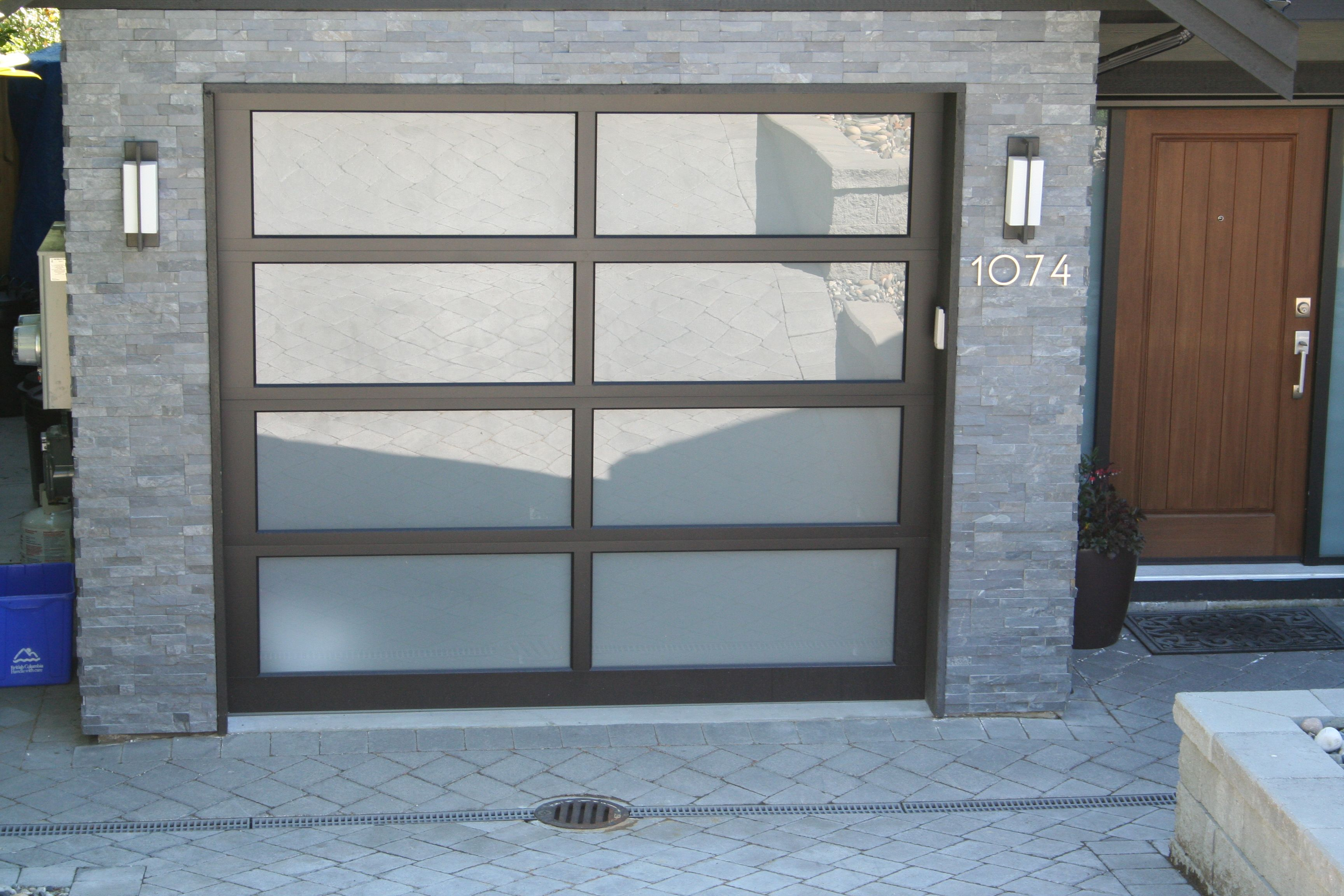 Full View Northwest Doors Model Mc 800 With Satin Etched Glass A