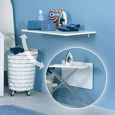 Universal design for accessibility ada kitchen ada for Small fold down laundry table