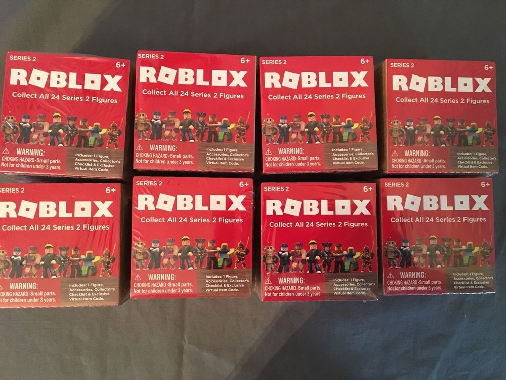 Roblox Series 2 Blind Box Mystery Figures Kids Toys Lot Of 8