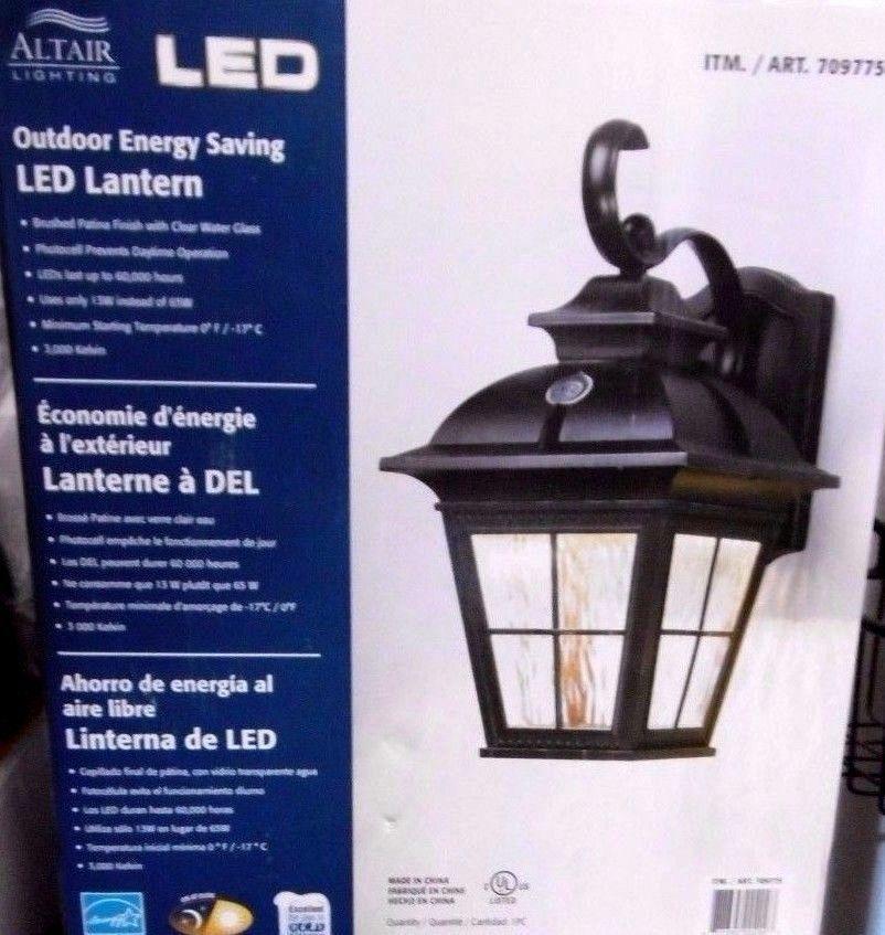Led Outdoor Light Costco: Altair Lighting Led Lantern Outdoor Energy Saving