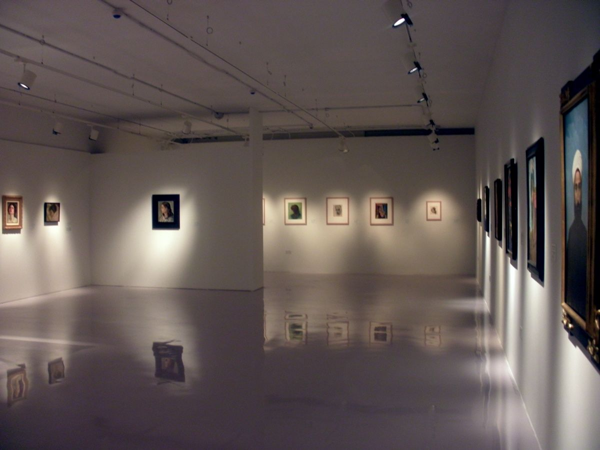 Art Gallery Interior | ... Modernity Part I Interior Gallery Mathaf Arab  Museum Of