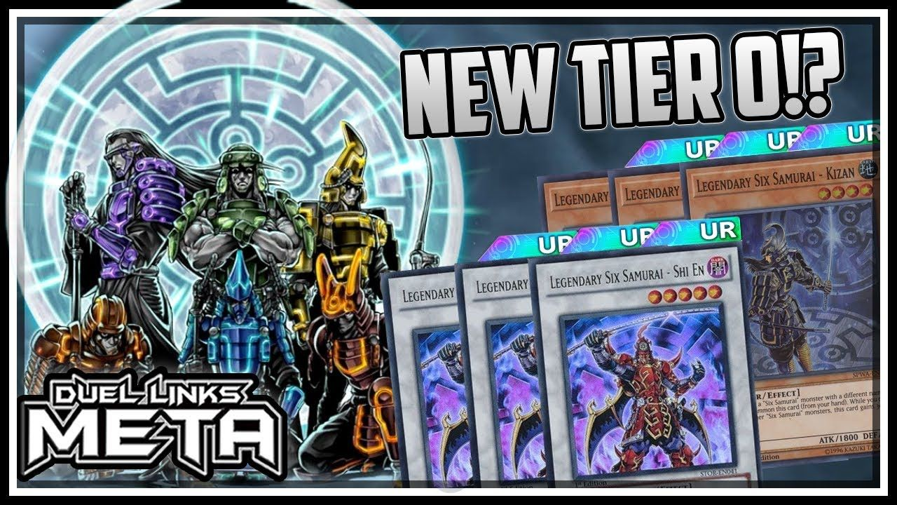 Six Samurai! New Tier 0!? Undefeated 10-0!! [Yu-Gi-Oh! Duel