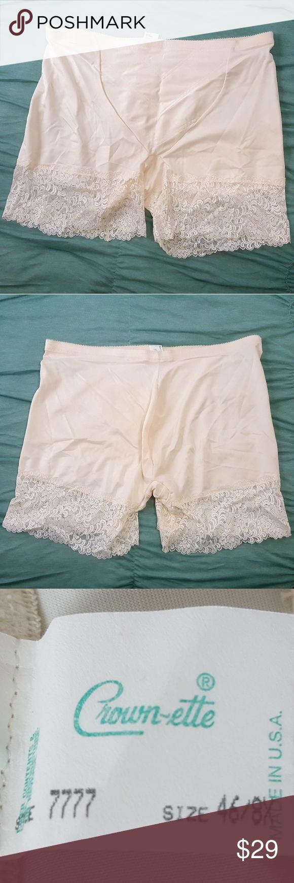 0f7ae6c7eb5b6 Crown-ette Vintage Beige Shaper Panty 46 Crown-ette Vintage Cream ...