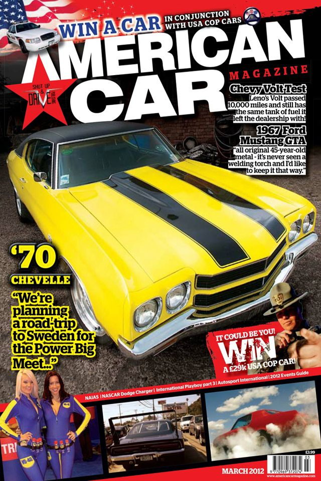 This Is An American Car Magazine There Are Many Logos In This Such