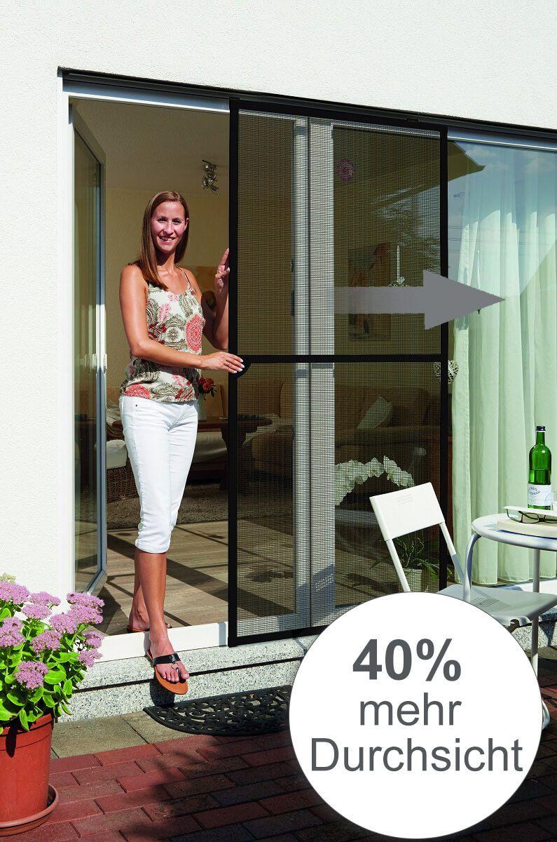 perfekt f r die terrassent r diese insektenschutz t r ist mit einem speziellen fliegengitter. Black Bedroom Furniture Sets. Home Design Ideas