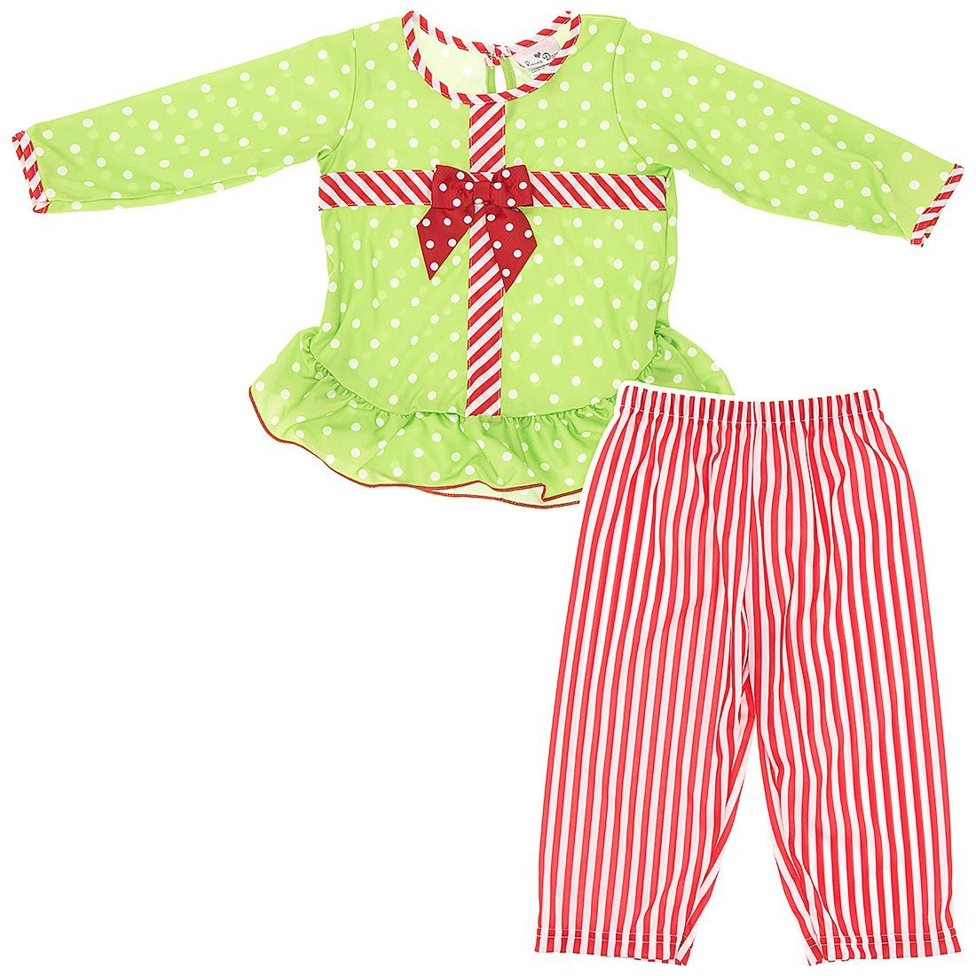Love these Girls Christmas Pajamas c2bf91784